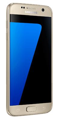 Téléphone Samsung Galaxy S7 or Comme neuf