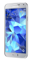 Téléphone Samsung S5 New silver Comme neuf