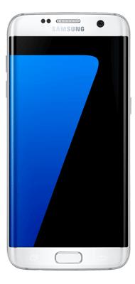 Téléphone Samsung Galaxy S7 edge blanc Comme neuf