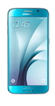 Téléphone Samsung Galaxy S6 bleu 32Go Comme neuf