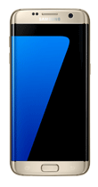 T�l�phone Samsung Galaxy S7 edge or Comme neuf