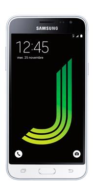 Téléphone Samsung Galaxy J3 2016 Blanc Comme neuf