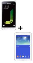 Téléphone Samsung Galaxy J3 2016 Blanc