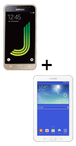 Téléphone Samsung Galaxy J3 2016 Or