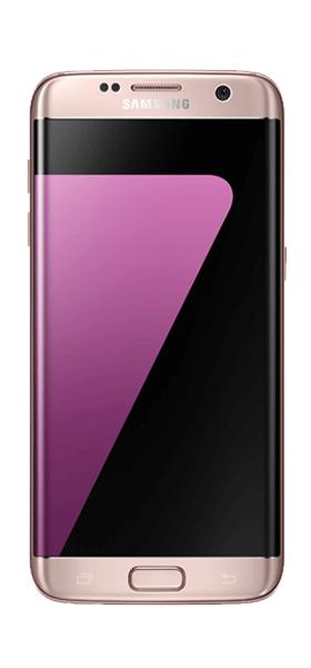 Téléphone Samsung Samsung Galaxy S7 edge Rose Comme Neuf