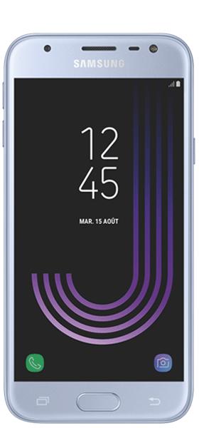 Téléphone Samsung Galaxy J3 2017 Bleu argenté