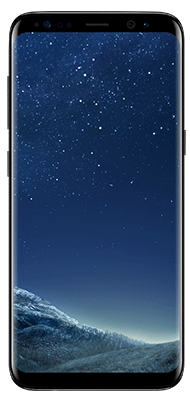 Téléphone Samsung Galaxy S8 Midnight Black Comme Neuf