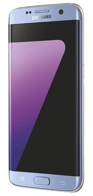 Téléphone Samsung Samsung Galaxy S7 Edge Bleu Comme Neuf