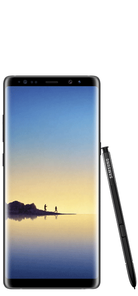 Téléphone Samsung Samsung Galaxy Note 8 Noir Carbone Comme Neuf