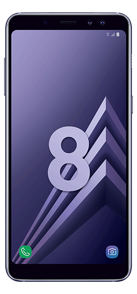 Téléphone Samsung Galaxy A8 orchid