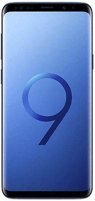 Téléphone Samsung Galaxy S9+ Bleu Corail