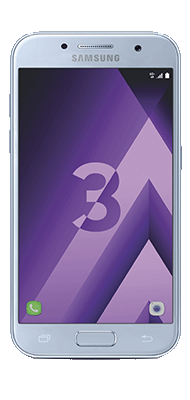 Téléphone Samsung Galaxy A3 2017 Bleu Comme Neuf