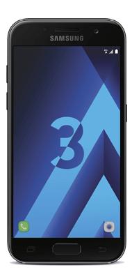 Téléphone Samsung Galaxy A3 2017 Noir Comme Neuf