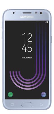 Téléphone Samsung Galaxy J3 2017 Bleu argenté Comme Neuf