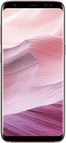 Téléphone Samsung Galaxy S8 rose Comme Neuf