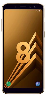 Téléphone Samsung Galaxy A8 or Comme Neuf