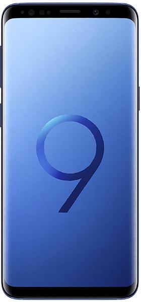 Téléphone Samsung Galaxy S9 Bleu Corail Comme Neuf
