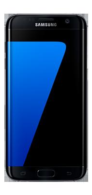 Téléphone Samsung Galaxy S7 edge noir Etat correct