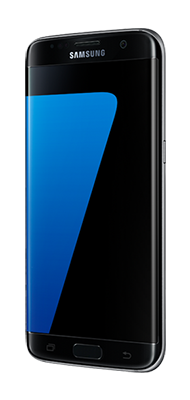 Téléphone Samsung Samsung Galaxy S7 edge noir Etat correct