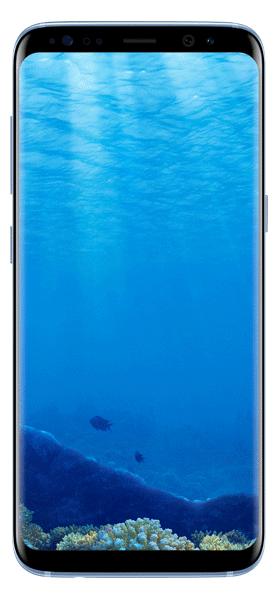 Téléphone Samsung Galaxy S8 Bleu Corail Comme Neuf
