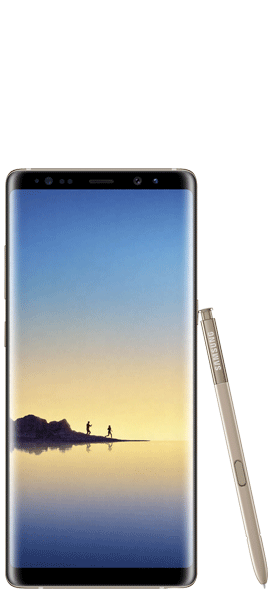 Téléphone Samsung Samsung Galaxy Note 8 Or Topaze Comme Neuf