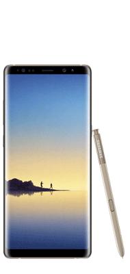 Téléphone Samsung Galaxy Note 8 Or Topaze Très bon état