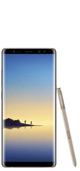 Téléphone Samsung Samsung Galaxy Note 8 Or Topaze Très bon état