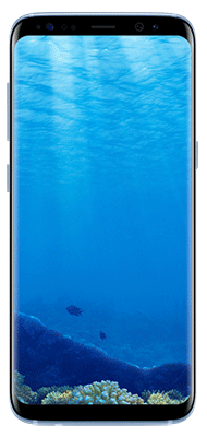 Téléphone Samsung Samsung Galaxy S8 Bleu Corail Bon état