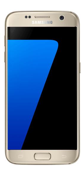 Téléphone Samsung Galaxy S7 or Très bon état