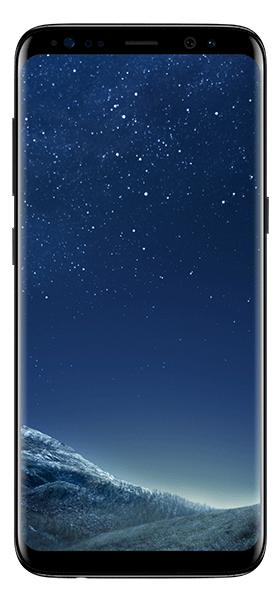 Téléphone Samsung Galaxy S8 Midnight Black Très bon état