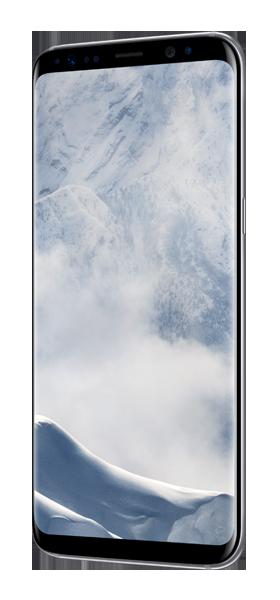 Téléphone Samsung Galaxy S8+ Artic Silver Très bon état