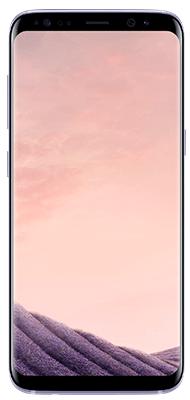 Téléphone Samsung Galaxy S8 Orchid Grey Très bon état