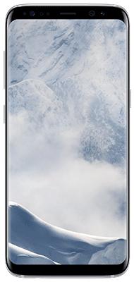 Téléphone Samsung Samsung Galaxy S8 Artic Silver Très bon état