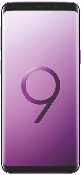 Téléphone Samsung Samsung Galaxy S9 Ultra Violet Très bon état