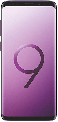 Téléphone Samsung Galaxy S9+ Ultra Violet Très bon état