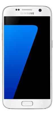 Téléphone Samsung Galaxy S7 blanc Bon état