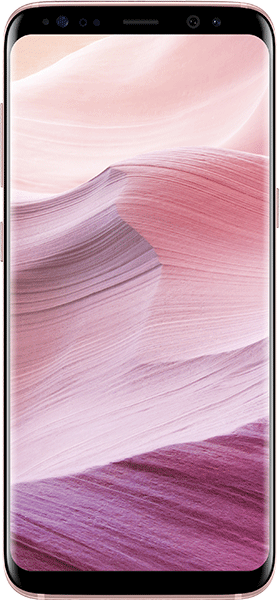 Téléphone Samsung Galaxy S8 rose Bon état