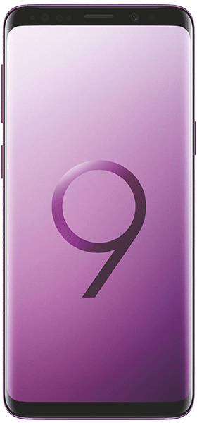 Téléphone Samsung Galaxy S9 Ultra Violet Bon état