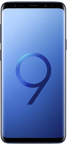Téléphone Samsung Galaxy S9+ Bleu Corail Bon état