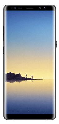 Téléphone Samsung Samsung Galaxy Note 8 Noir Carbone Bon état