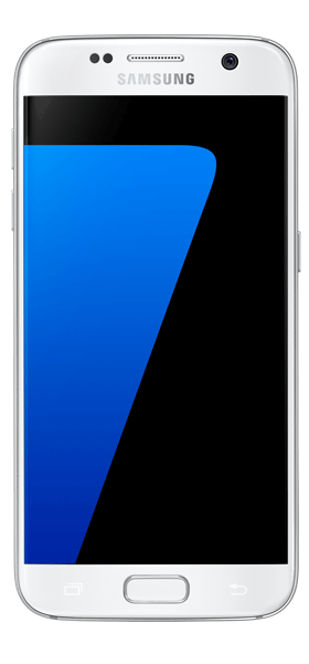 Téléphone Samsung Galaxy S7 blanc Etat correct