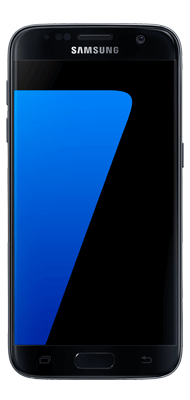 Téléphone Samsung Galaxy S7 noir Etat correct