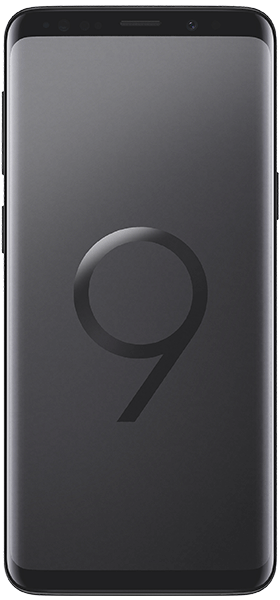 Téléphone Samsung Galaxy S9 Noir Etat correct
