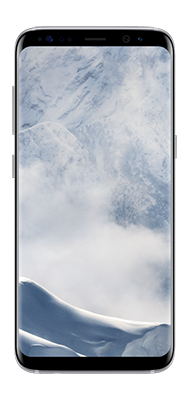 Téléphone Samsung Galaxy S8+ Artic Silver état correct