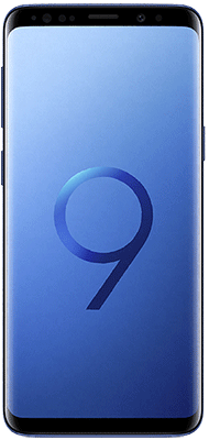 Téléphone Samsung Samsung Galaxy S9 Bleu Corail Etat correct