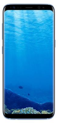 Téléphone Samsung Galaxy S8 Bleu Corail état correct