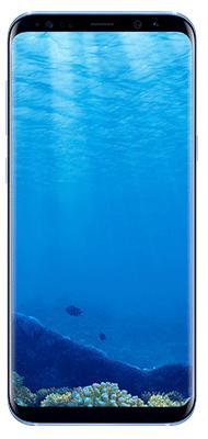 Téléphone Samsung Galaxy S8+ Bleu Corail état correct