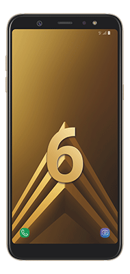 Téléphone Samsung Galaxy A6+ Or DS