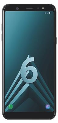 Téléphone Samsung Galaxy A6+ Noir DS
