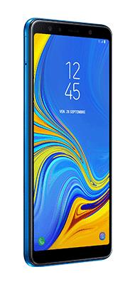Téléphone Samsung Galaxy A7 2018 Bleu